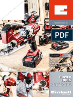 Einhell Catalogue RED PowerTools