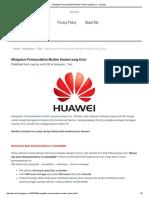 Mengatasi Permasalahan Modem Huawei Yang Error _ Playday