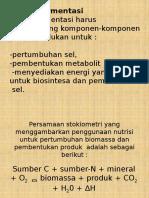 Media Fermentasi dan Faktor lingkungan untuk bakteri