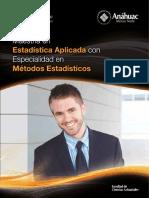 UNIVERSIDADANAHUAC_FolletoMaestriaEstadistica