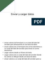 Enviar y Cargar Datos