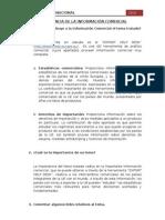 IMPORTANCIA DE LA INFORMACIÓN COMERCIAL