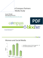Women Blogging Study