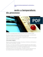 Controlando a Temperatura Do Processo (Acerva Paulista)