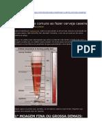Dicas - 10 Erros Mais Comuns Ao Fazer Cerveja Caseira  (Henrik Boden)