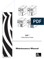 Xi4 Maintenance Manual