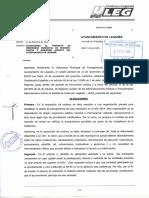 Alegaciones de ULEG al Proyecto de Ordenanza de Transparencia y Gobierno Abierto del Ayuntamiento de Leganés