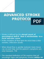 Advanced Stroke Protocol
