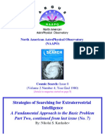 Nikolai Kardashev - Strategies of Searching for Extraterrestrial Intelligence