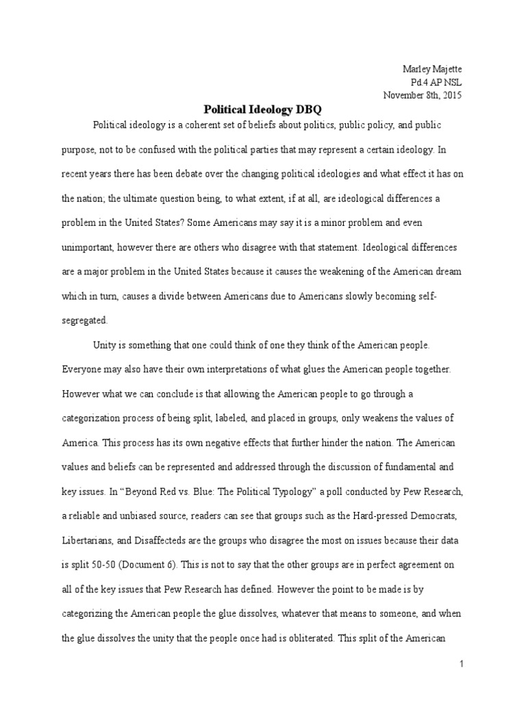 English Essay My Best Friend Political Ideology Dbq United States Government Conservatism In Ideology  Essay Political Economic Science And Technology Essays also English Essays For Students Political Ideology Essay  Mistyhamel English Essay Question Examples