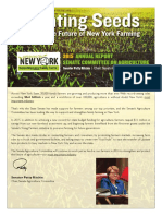 2015 Annual report of the Senate Agriculture Committee