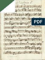 Federico, Il Grande. Symphony in D Major