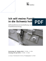Flyer Familiennachzug 2014 2015
