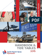 YHQ Handbook and Tide Table 2016