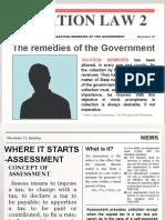 Tax Remedies