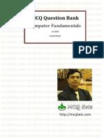 Computer Fundamental Mcq Bank