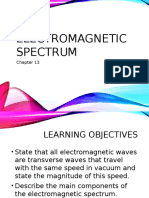chapter 13 - electromagnetic spectrum
