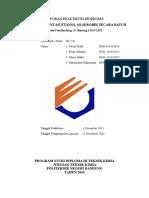 Laporan Praktikum Bioproses Anaerob