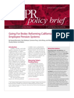 Stanford Institute for Economic Policy Research report of California Pensions