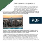 Forex Ea Review - cómo seleccionar el mejor Forex Ea