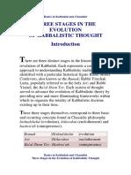 Basics in Kabbalah and Chassidut