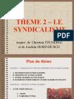 diaporama THEME 2 syndicalisme 2007-2008