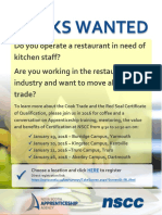 Cook Info Session