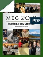 Meg's Plan for Building A New California
