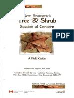 Tree & Shrub - Species of Concern NB