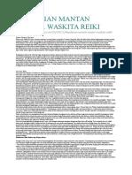 Kesaksian Mantan Master Waskita