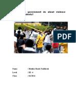 Violence Among Students
