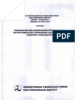 30_SE_M_2015 Pedoman Metode Perencanaan Penggalian Dan Sistem Perkuatan Terowongan Jalan