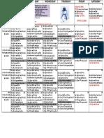 Oxf Jan Class Schedule