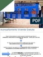 Acompañamiento a proyectos de 100milviviendas gratis ANSPE