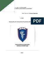 CURS_Masajul in Traumatologia Sportiva 2013 P