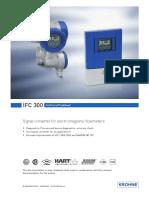 9035 Ifc300 Signal Converter Datasheet