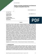 Rule Based Identification of Cardiac Arrhythmias from Enhanced ECG Signals Using Multi-Scale PCA
