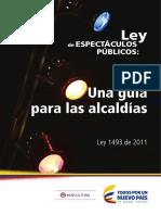 Ley Espectaculo s Public Os