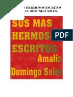 Amália Domingo y Soler - Sus Más Hermosos Escritos