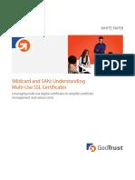 Wildcard San Multi Use SSL Certificates