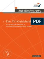 Avi Volunteer Guidebook