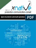 Présentation de l'agence Alternative Production Communication Conseil