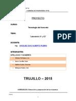 Laboratorio 1 y 2 Tecon