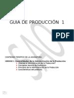 Producción I