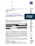 Redacted Claim Letter Barnet LIbraries