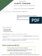Ensaio Modelo Para IELTS