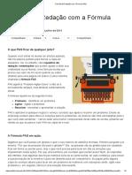 Fácil Email Redação Com a Fórmula PAS