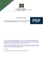 Regimento Interno - 2015 - RA-078-2015 - Atualizado Em 04.11.2015