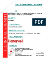 Submittal Honeywell