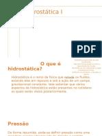 Hidrostática I